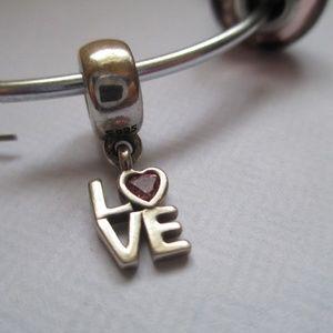 Pandora All About Love Dangle Charm